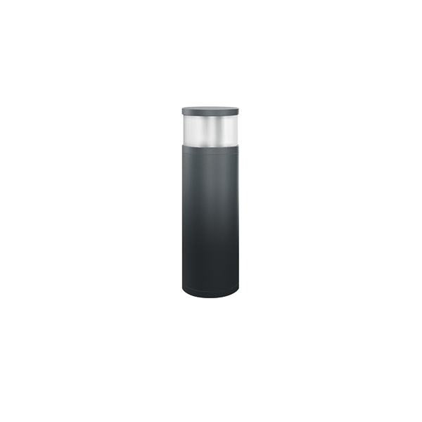 BOLLARD ALVA 360° 540 / 170 16W 4000K ANTH. MILKY ON/OFF